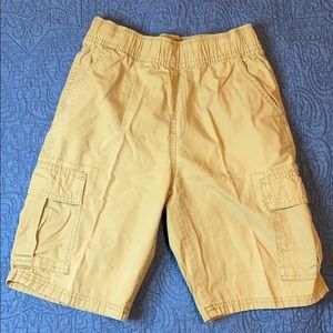 Boys kakhi cargo shorts